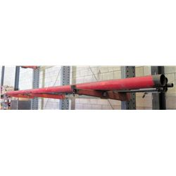 Large Red Pipe, Assorted Smaller Pipe & Square Tubing (red pipes 21')