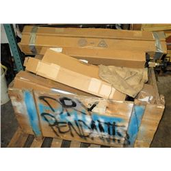 Contents of Pallet: Misc. Fire Protection Equipment