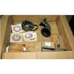 Box of Nuts, Bolts, Clamps, Fittings & Flange Kits