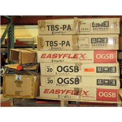 Qty 2 Boxes EasyFlex Sprinkler Drop, Qty 4 Boxes EasyFlex, & Misc Flex Hose