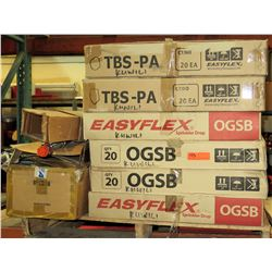 Qty 2 Boxes EasyFlex Sprinkler Drop, Qty 4 Boxes EasyFlex, & Misc Flex Hose
