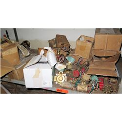 Assorted Valves & Misc Electrical Switches