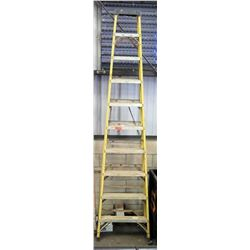 Qty 1 Yellow Tall Ladder 10'