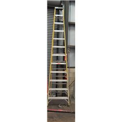Qty 1 Yellow Tall Ladder 12'