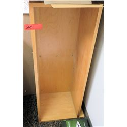 "Wooden Wall-Mount Shelving 38.5"" x 13"" x 14"""