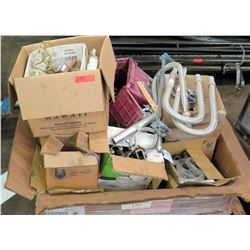 Misc Flex Hose, Clamps, Elbows, T's, and Fittings