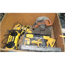 Misc. Power Tools (briefly tested, all are non-working and need repair)