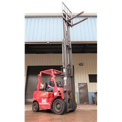 Tailift 25 Forklift (Runs & Drives, Tilts, Lifts, SEE VIDEO Sideshift Not Working)