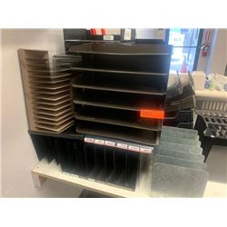 Lot of Misc. Organizational Office Trays
