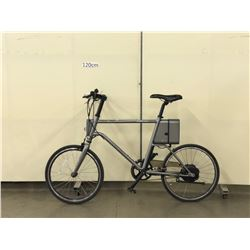 GREY YUNBUKE SURFACE604 ELECTRIC ASSIST COMMUTER BIKE