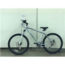 GREY NORCO SCRAMBLER FRONT SUSPENSION MOUNTAIN BIKE WITH FRONT AND REAR DISC BRAKES