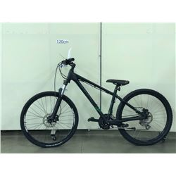 BLACK GIANT TALON FRONT SUSPENSION MOUNTAIN BIKE WITH FRONT AND REAR HYDRAULIC DISC BRAKES