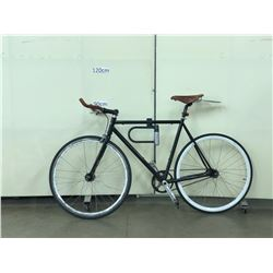 BLACK SCHWINN SINGLE SPEED ROAD BIKE