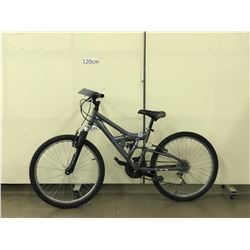 GREY NORCO FULL SUSPENSION MOUNTAIN BIKE