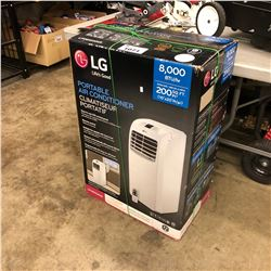 LG PORTABLE 8000 BTU AIR CONDITIONER