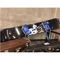NITRO 164 CM SNOWBOARD WITH FORUM BINDINGS