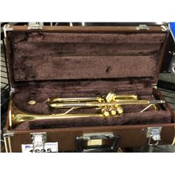 TRUMPET WITH CASE, NO MOUTHPIECE