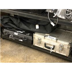 2 HARD LOCKING CASES AND SOFT CASE