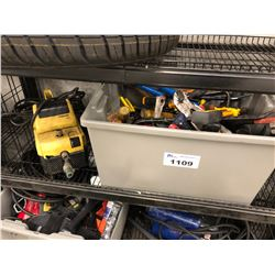 LOT OF ASSORTED TOOLS AND K'ARCHER 580 ELECTRIC PRESSURE WASHER, BIN NOT INCLUDED