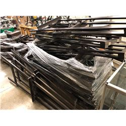 LOT OF APPROX. 15 ADJUSTABLE SHELF ART EASELS
