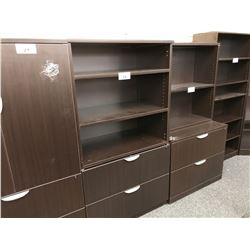5.5' 2 DRAWER LATERAL FILE CABINET WITH ADJUSTABLE SHELF TOP