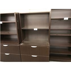 5.5' 2 DRAWER LATERAL FILE CABINET WITH ADJUSTABLE SHELF TOP, STYLE 2