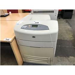HP COLOR LASERJET 5550N NETWORK PRINTER