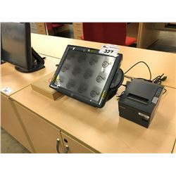 ELO TOUCH SCREEN POS SYSTEM WITH CARD READER AND EPSON PRINTER