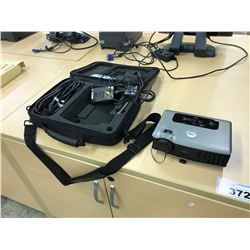 DELL 3400MP PROJECTOR WITH CASE AND ACCESSORIES