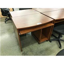 CHERRY 3' MOBILE COMPUTER TABLE