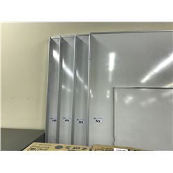 4' X 8' MAGNETIC WHITE BOARD