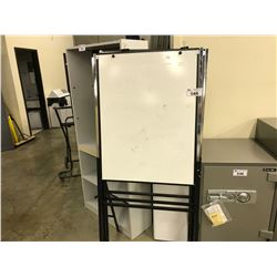3 FOLDING FREE STANDING WHITE BOARDS