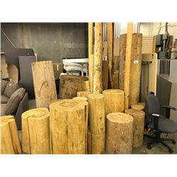 VERY LARGE LOT OF LOGS (MUST TAKE ALL)