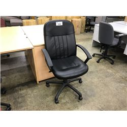 BLACK HI-BACK TILTER CHAIR