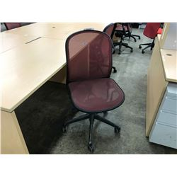KNOLL CHADWICK MESH TASK CHAIRS  (NO ARMS)