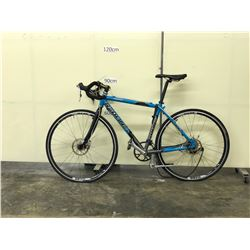 BLUE REDLINE CONQUEST ROAD BIKE WITH FRONT AND REAR DISC BRAKES