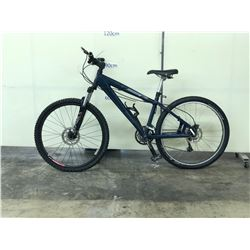 BLUE NORCO RAMPAGE FRONT SUSPENSION MOUNTAIN BIKE WITH FRONT AND REAR DISC BRAKES