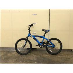 BLUE KENT BMX BIKE