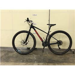 BLACK SPECIALIZED HYBRID TRAIL BIKE WITH FRONT AND REAR HYDRAULIC DISC BRAKES