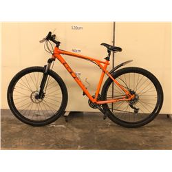ORANGE GT KARAKORAM FRONT SUSPENSION MOUNTAIN BIKE WITH FRONT AND REAR DISC BRAKES