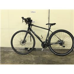 BLACK NO NAME ROAD BIKE WITH FRONT AND REAR DISC BRAKES