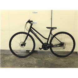 BLACK MEC CHINOOK COMPACT TRAIL BIKE WITH FRONT AND REAR DISC BRAKES