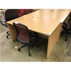 """MAPLE 60"""" COMPUTER TABLE"""