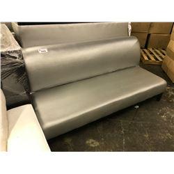 GREY 3 SEAT BENCH