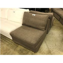 TAUPE LOUNGE CHAIR