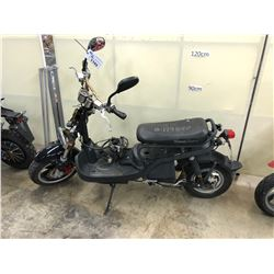 BLACK MOTORINO ELECTRIC MOPED, PARTS ONLY, NO KEYS