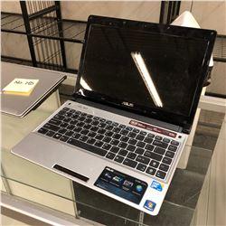 ASUS 13'' NOTEBOOK COMPUTER, NO CHARGER, NO HDD