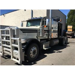 2012 PETERBILT CONVENTIONAL TRACTOR, WHITE, VIN # 1XPWD40X6CD139001