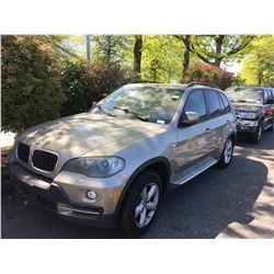 2007 BMW X5, 4DR SUV, BROWN, VIN # 5UXFE435X7L039020