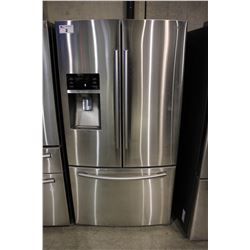 36  STAINLESS STEEL SAMSUNG FRENCH DOOR FRIDGE WITH BOTTOM FREEZER AND WATER/ICE